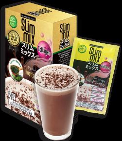 Giảm Cân Slim Mix chứa CA CAO HỮU CƠ giúp đẩy nhanh quá trình đánh tan mỡ