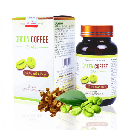 Green Coffee Bean Chính Hãng - Chiết Xuất Từ Trái Cà Phê Xanh