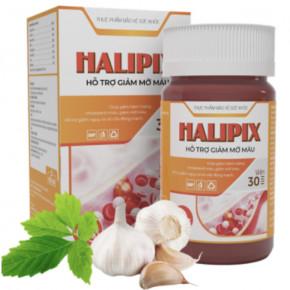 Halipix-Hỗ Trợ Giảm Mỡ Máu, Huyết Áp